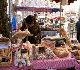 Aix Markt auf dem Place Richelme1