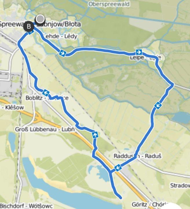 Lübbenau Radtour Gurkenradweg und Slawenburg
