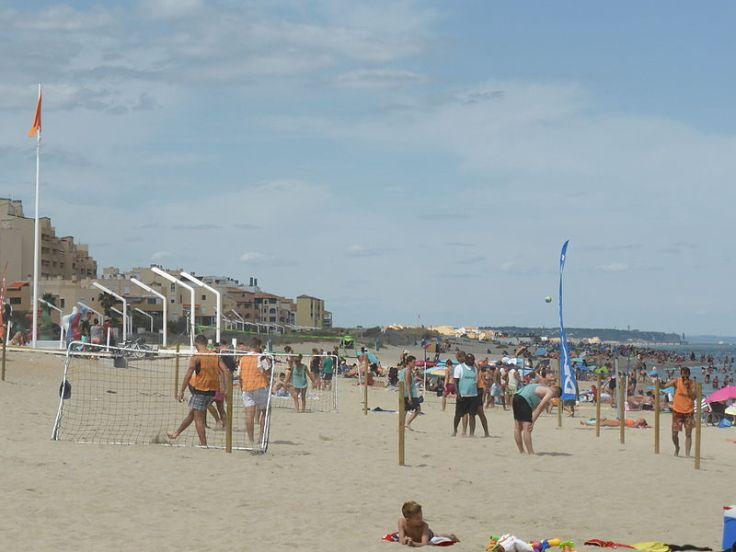 Le Barcares Strand