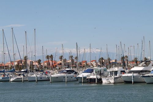 Le Barcares Hafen
