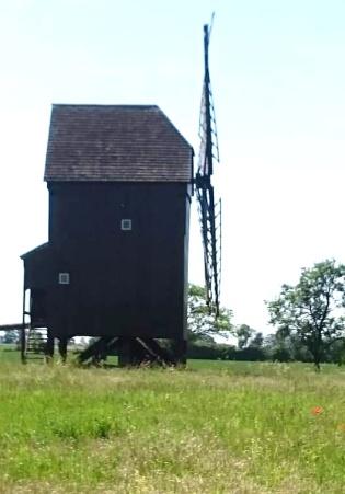Mühlberg Bockwindmühle Altbelgern