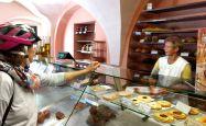 Mühlberg kleine Bäckerei im Ort
