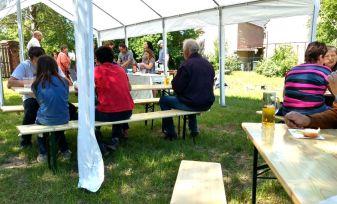 Mühlberg Partyzelt in Altbelgern