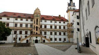 Torgau Innenhof Schloss