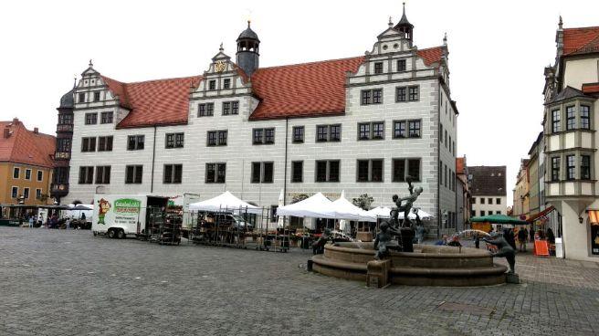 Torgau Rathaus am Markt