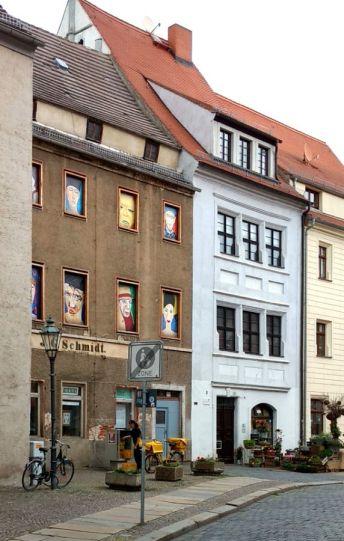 Torgau Seitengasse vom Markt