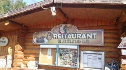 Bertingen Restaurant zum Indianer auf dem Campingplatz
