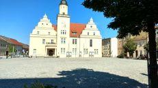 Coswig Marktplatz mit Rathaus
