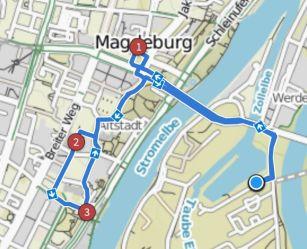 Magdeburg Radtour City