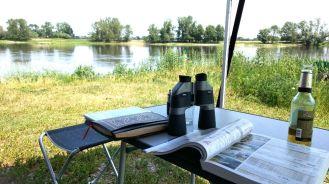 Schönebeck CP Blick auf die Elbe