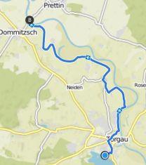 Torgau Radtour zur Elbfähre Prettin