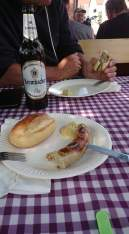 Torgau Wurst im Radlertreff