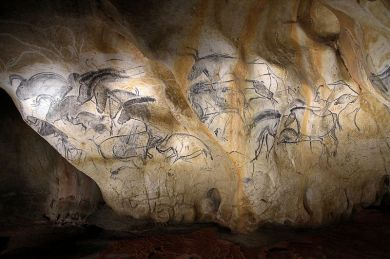 Ardeche Chauvet-Höhle
