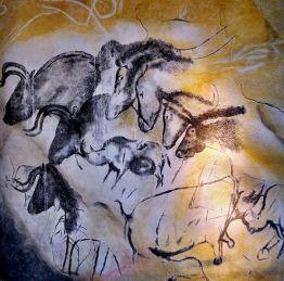 Ardeche Chauvet´s_cave_horses