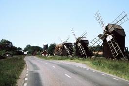 Öland Windmühlen von Lerkaka