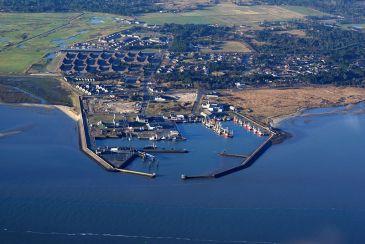 Rømø Havneby Hafen