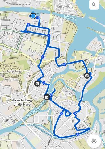Brandenburg Radtour Innenstadt