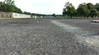 Fürstenberg KZ Ravensbrück Barackenfläche