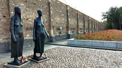 Fürstenberg KZ Ravensbrück Gedenkareal bei den Gaskammern