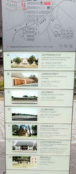 Fürstenberg KZ Ravensbrück vorm Besucherzentrum