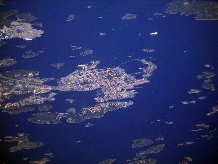 Karlskrona_Luftaufnahme