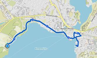 Waren Radtour zum Hafen
