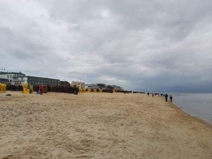 Cuxhaven am Strand