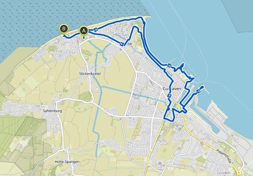 Cuxhaven Radtour