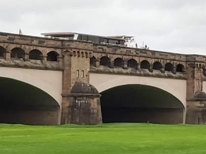 Minden Brücke des Mittellandkanals über die Weser