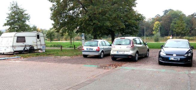 Minden Falschparker auf Womostellplätzen