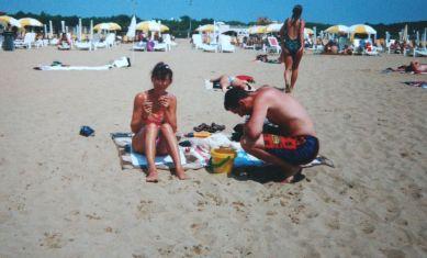 Bibione am Strand 1995
