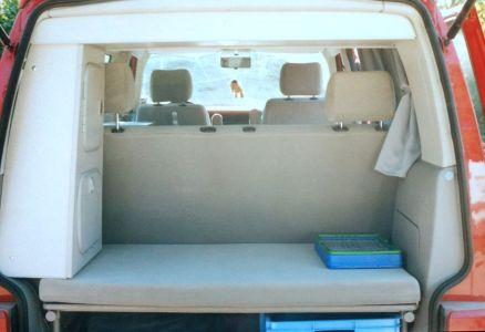 Bulli Dach- und Seitenschrank hinten