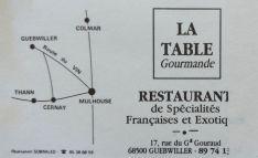 Guebwiller Gaststätte (1)