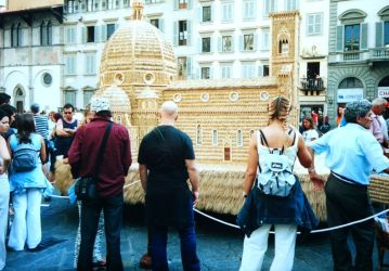 in Florenz 2001