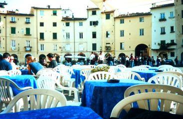 Lucca Marktplatz 2001