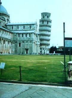 Pisa Schiefer Turm 2001