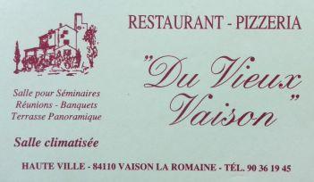 Vaison la Romaine Pizzeria