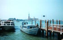 Venedig Fahrt mit dem Schiff 1995