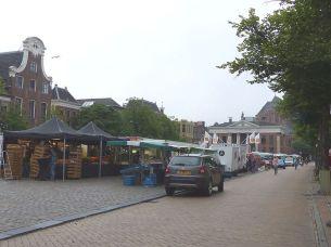 Groningen Fischmarkt hinterm Stadthaus