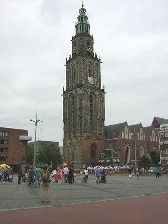 Groningen Martinikirche am Grote Markt