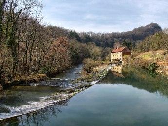 Baume-les-Dames_Zusammenfluss avec la Doubs