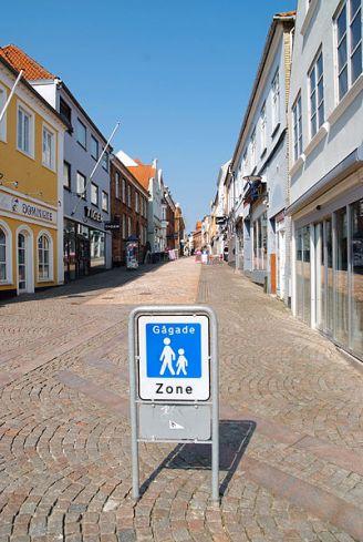 Apenrade_Fußgängerzone