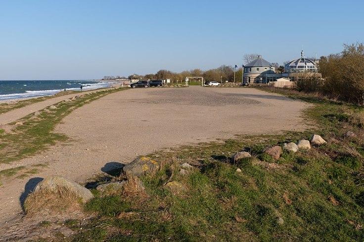 Strandparkplatz in Hohenfelde