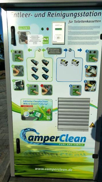 Grömitz Camper Clean Anlage
