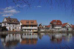 Ilsenburg_Häuser_am_Zainthüttenteich