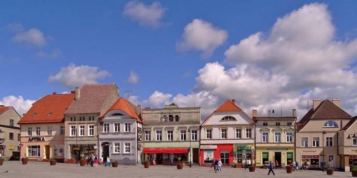 Darłowo Marktplatz
