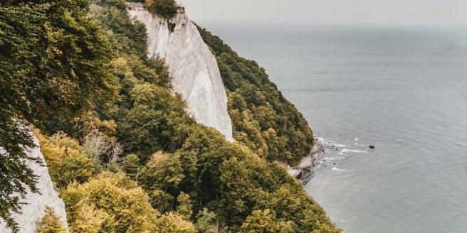 Königsstuhl Blick auf die Aussichtsplattform