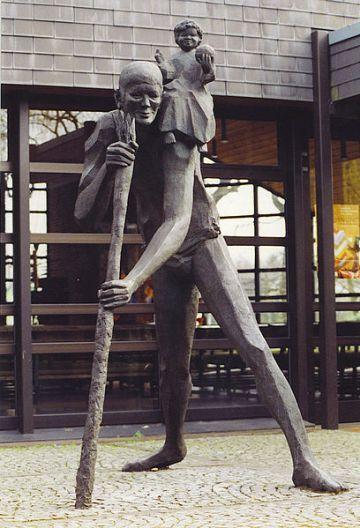 Ladbergen Christophorus-Statue