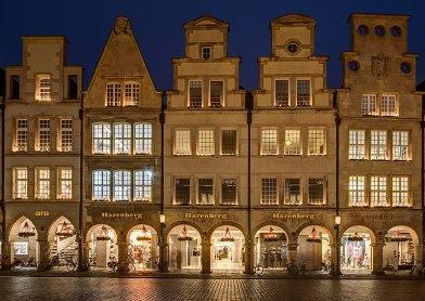 Münster Prinzipalmarkt abends