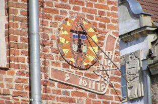 Olsztyn_Sonnenuhr_am_alten_Rathaus
